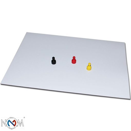 Ferrofólia 0,5 mm vastag, A3 lap, fehér
