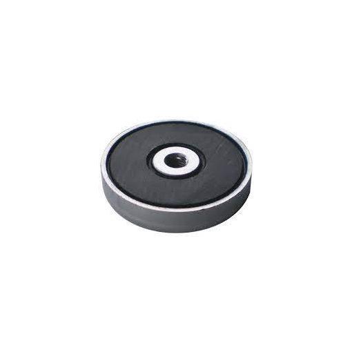Ferrit pot mágnes D63 mm menetes furattal