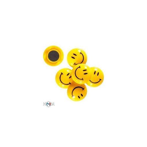 Smiley mágnes 30 mm