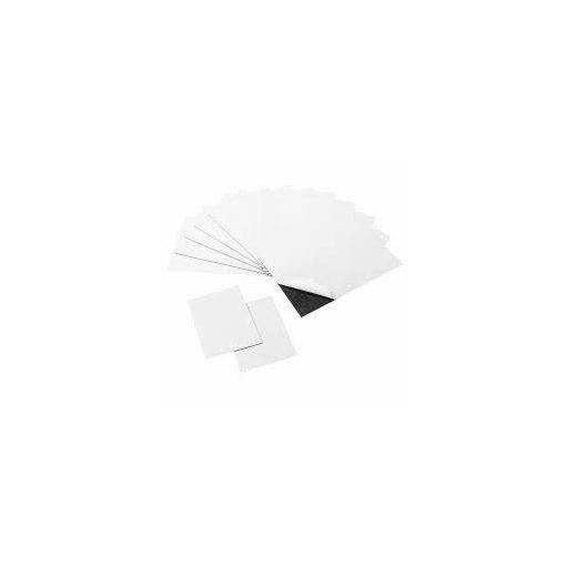 Mágneslap, öntapadós 105x148 mm 2 mm vastag