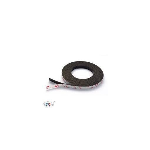 Neodymium mágnesszalag 1,5 mm vastag 10 mm széles 1 méter, öntapadós