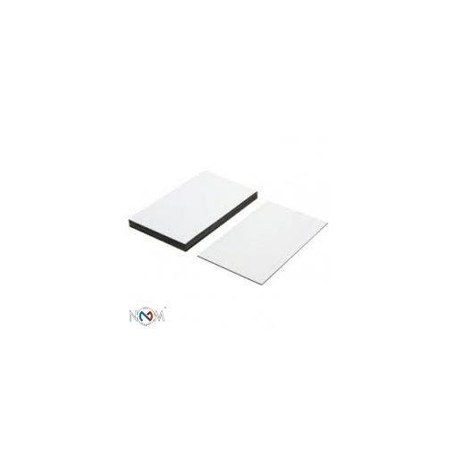 Mágnesfólia címke öntapadós 40x30 mm 100 db